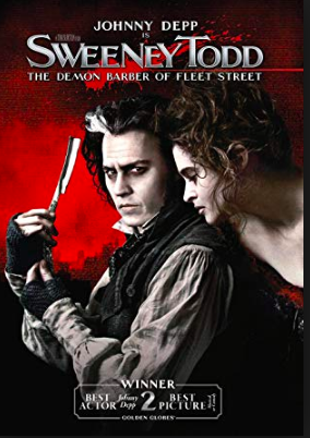 Sweeney Todd: The Demon Barber of Fleet Street (2007). Spiritual Movie Review - Jacklyn A. Lo